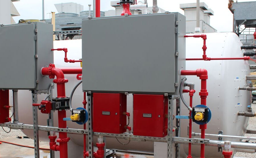 Power Amp Utility Fire Protection Projects American Fire