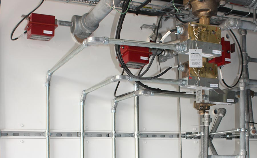 High Pressure CO2 Fire Suppression