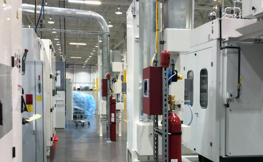 Reishauer CNC Machines Fire Protection